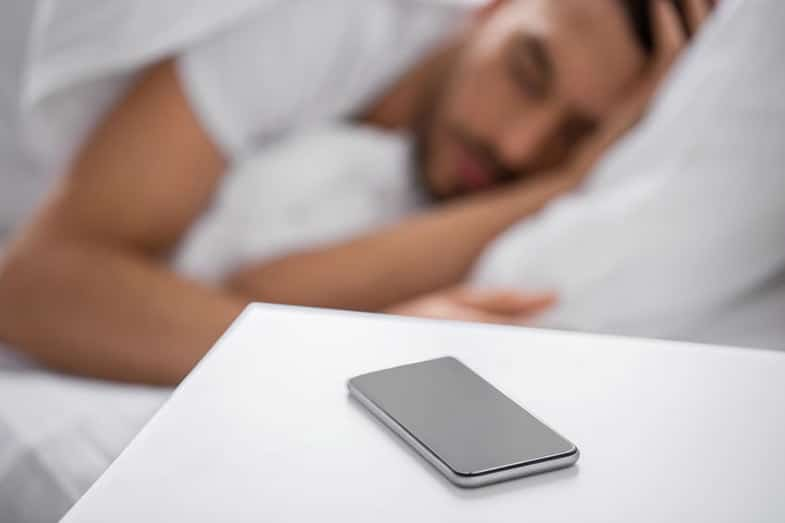 How Far Away Should Your Cell Phone Be When You Sleep