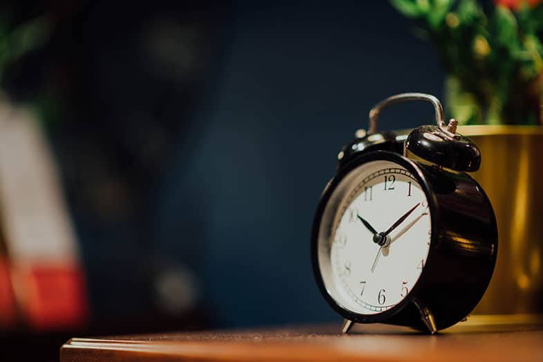 Sleep Through Alarm Clock