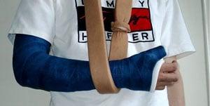 Broken Arm in a Sling