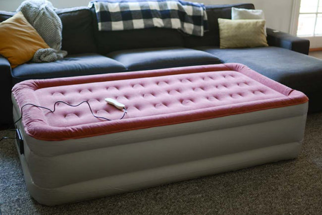 How to Silence a Squeaky Air Bed