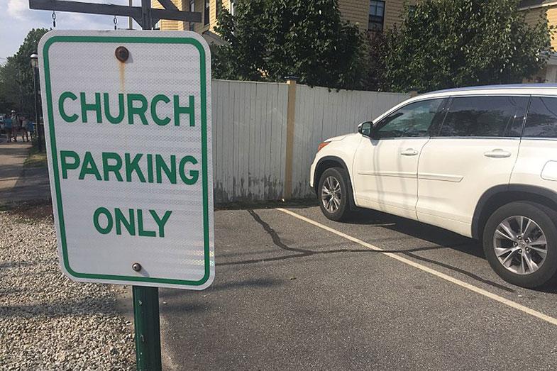 Sleep in a Church Parking Lot