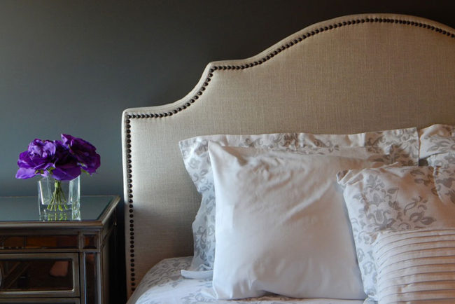 Making a King Size Headboard Fit a California King Bed
