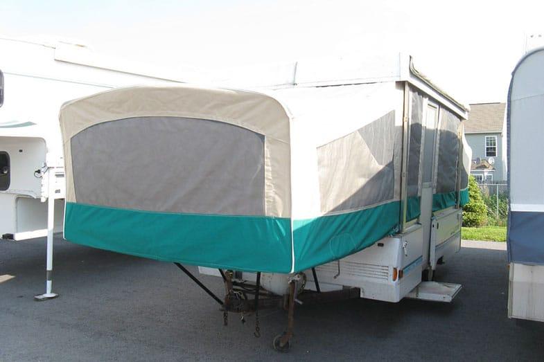 Pop Up Camper Bed