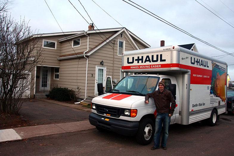 U-Haul Truck Moving Day