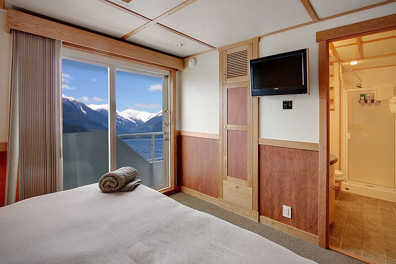 Captain Stateroom on a Ship