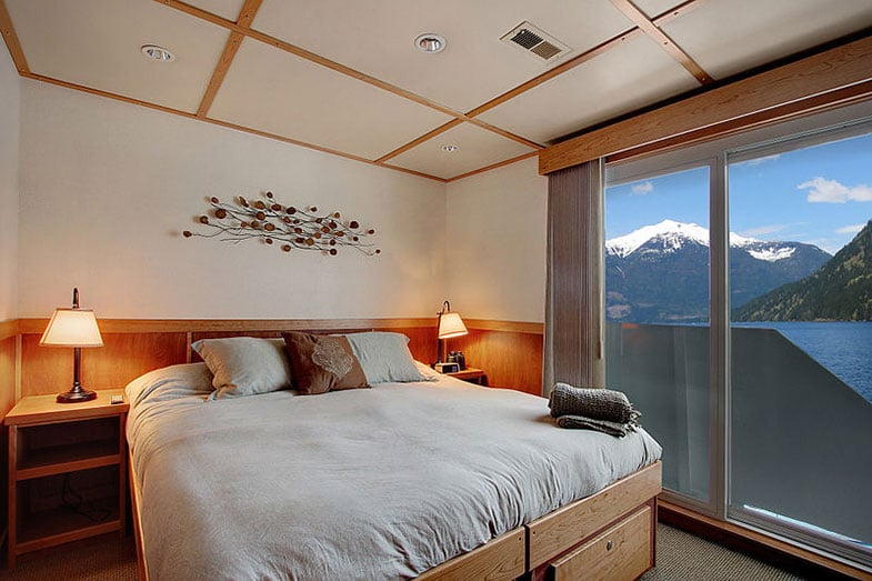 Captain's Stateroom on a Ship