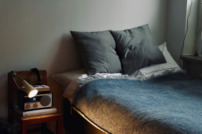 Minimal Twin Bed