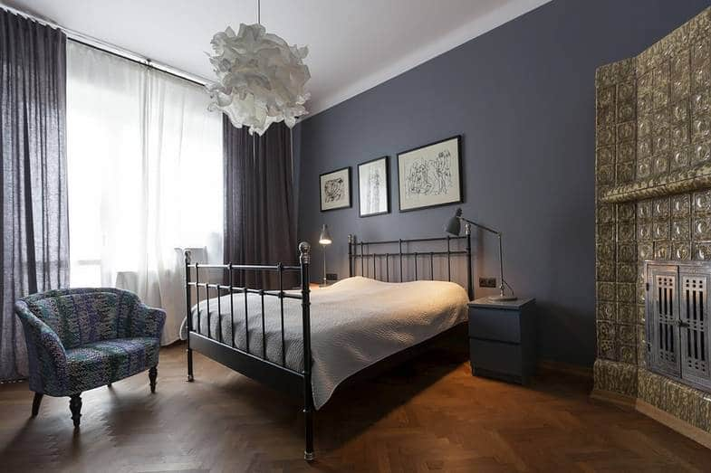 Metal Bed Frame Apartment