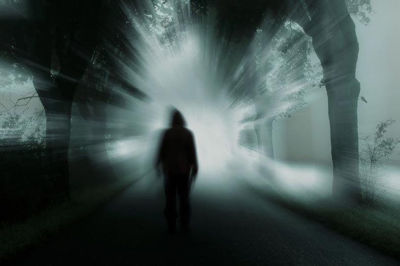 Black Figure Dark Shadow Nightmare