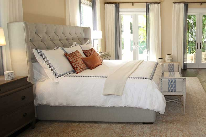 Large Bed in Bedroom Space