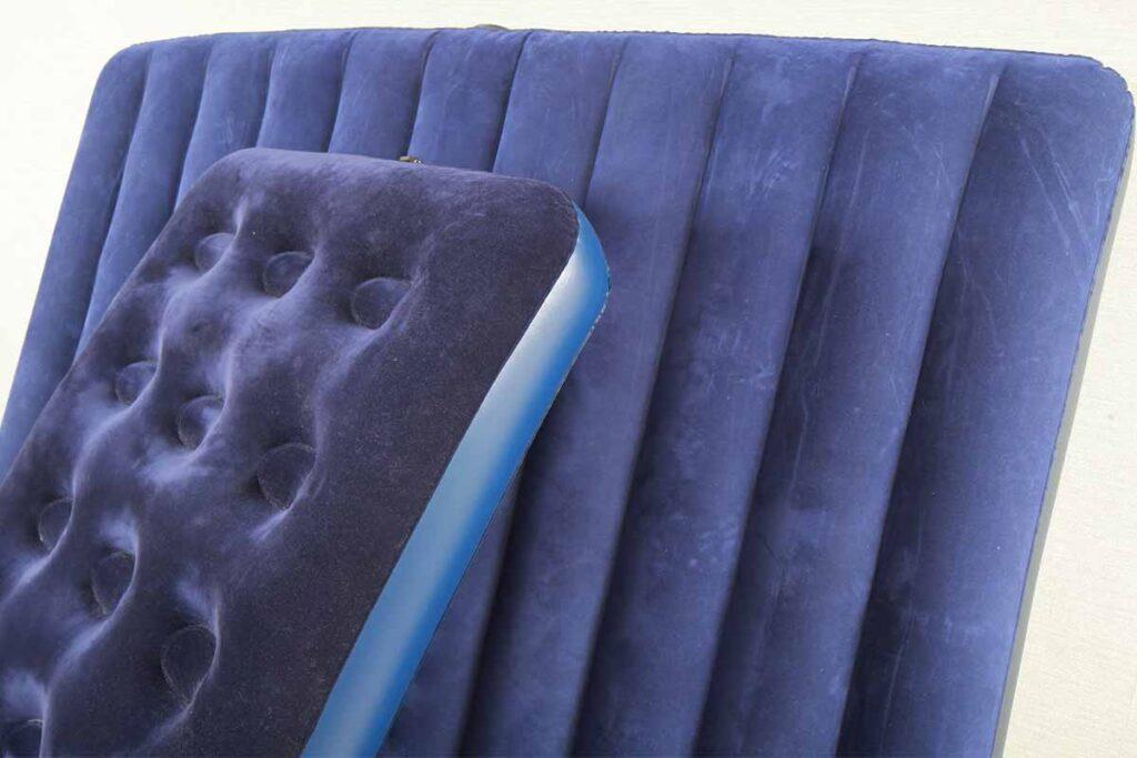 Blue Inflatable Air Mattress