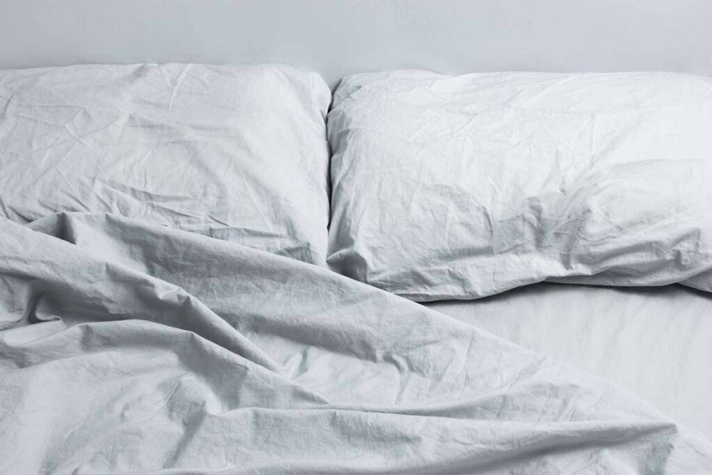 Gray Bed Linen